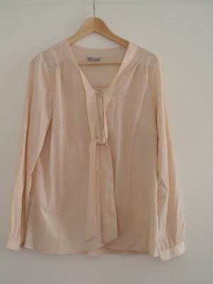 langärmelige Bluse *3 Suisses* rosa mit Schluppe Gr.42