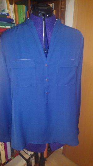Langärmelige Bluse mit Brusttaschen