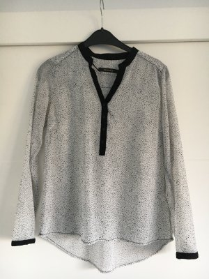 Langärmelige Bluse mit Print