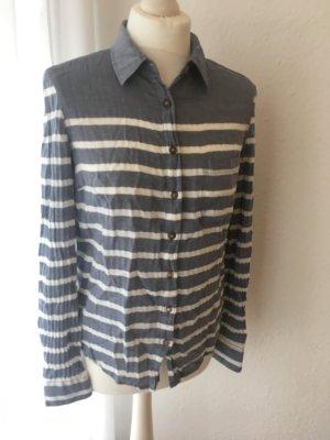 Langärmelige Bluse mit Streifen