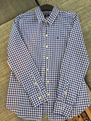 Gaastra Long Sleeve Shirt dark blue-white