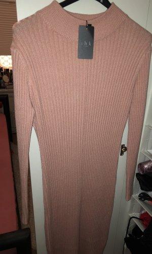 0039 Italy Sweat Dress pink-light pink