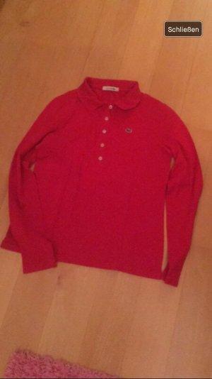 Langärmeliges Lacoste shirt