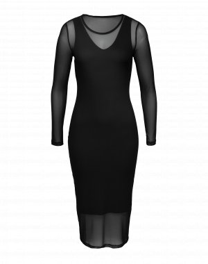 Langärmeliges Midi Dress von EDITED the label