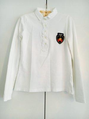 Langärmeliges Poloshirt mit Emblem von GANT