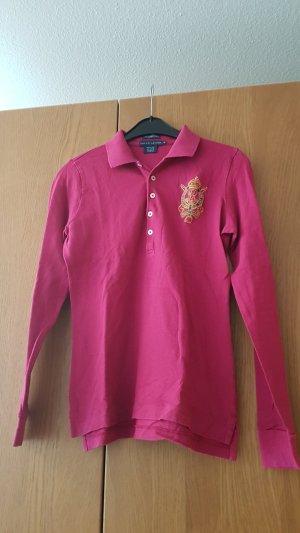 Langärmeliges Skinny Polo Shirt von Ralph Lauren
