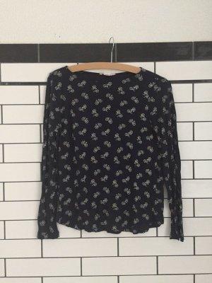 Langärmeliges T-shirt mit Fahrrad Muster