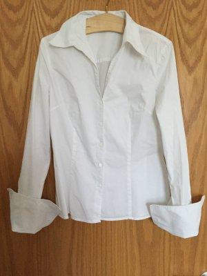Langärmlige Bluse von Esprit mit großem Ärmelaufschlag, Gr. 38