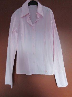 Langärmlige rosa Bluse