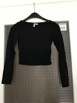 Langärmliges Bauchfreies Shirt von H&M Gr.XS
