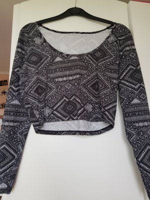 H&M Cropped Top multicolored