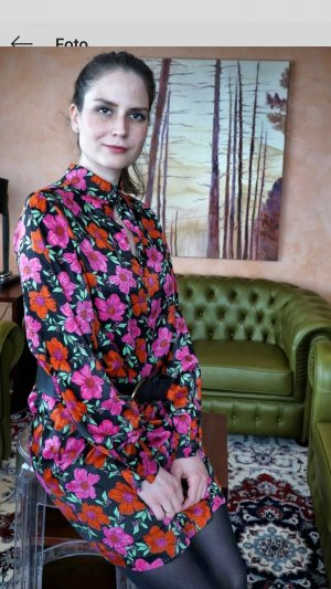 Mango Shirtwaist dress multicolored polyester