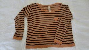 Langärmliges Shirt aus Baumwolle in M