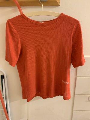 Calvin Klein Camiseta salmón-rojo
