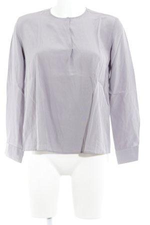 Langarm-Bluse blasslila Elegant