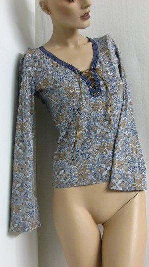 Langarm-Bluse, Gr. 34/36