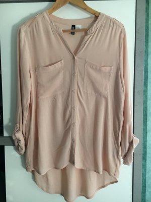 Langarm Bluse/Hemd rosa