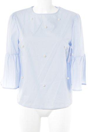 Langarm-Bluse himmelblau Elegant