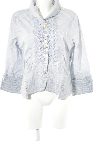 Langarm-Bluse himmelblau extravaganter Stil