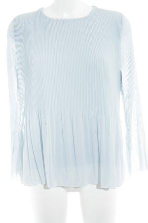 Langarm-Bluse himmelblau-hellblau Casual-Look