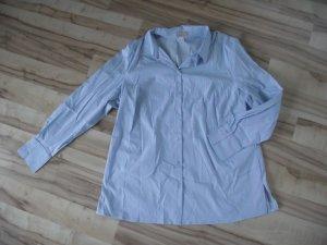 Langarm Bluse in hellblau (114-BHB)