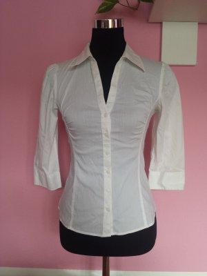 Langarm-Bluse in weiß (K4)