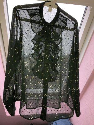 Langarm-Bluse mit schönen Rüschen