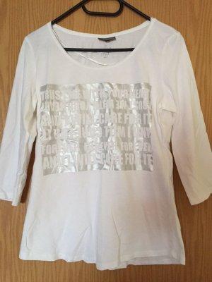 Langarm-Bluse von Street One, weiß,  Casual-Look ,Große 38