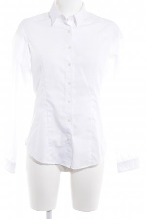Long Sleeve Blouse white business style