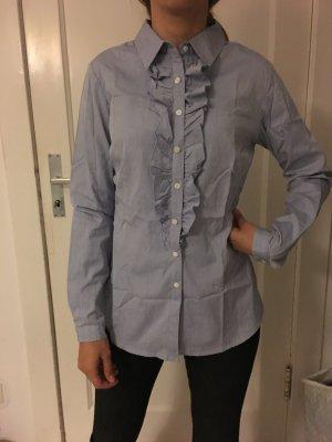 Ashley Brooke Camisa de vestir azul aciano