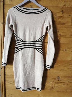 Amisu Vestido de manga larga multicolor