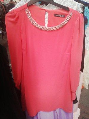 langarm Kleid - 36- lachs