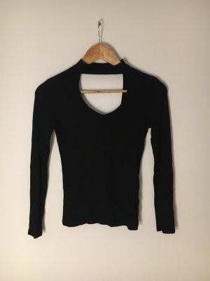 Amisu Camicia lunga nero