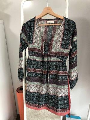 Abercrombie & Fitch Robe à manches longues multicolore