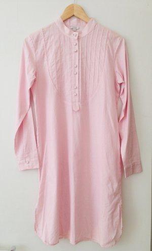 Langarm Nachthemd mit Knopfleiste, Galeries Lafayettes, rosa/weiß, Größe 36