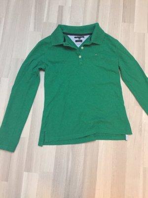 Langarm Poloshirt der Marke Tommy Hilfiger in Größe 38