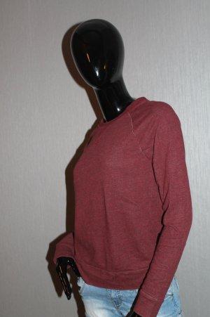 Langarm Pullover Rot