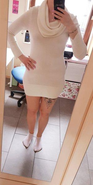 Langarm Pullover weiß