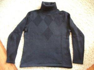 Langarm Rollkragen Pullover von Betty Barclay, Gr. 36, dunkel lila