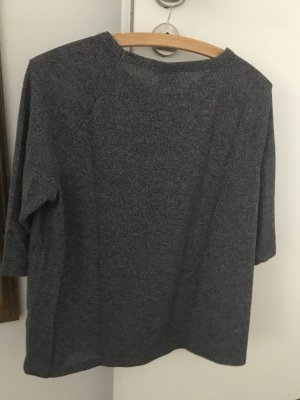 Only Knitted Sweater dark grey