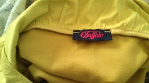 Buffalo Lang shirt limoen geel-neongeel Lycra