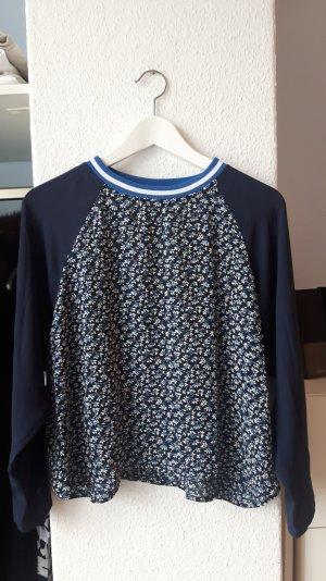 Langarm-Shirt aus fließendem Stoff