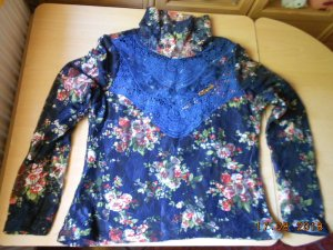 Turtleneck Shirt multicolored polyester