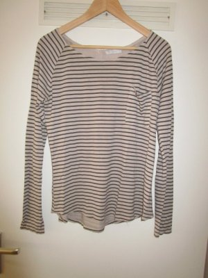 Stripe Shirt natural white-brown