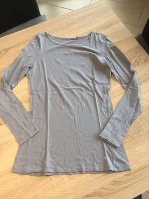 Langarm Shirt Grau Opus