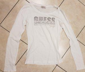 Langarm Shirt GUESS weiß Gr. S