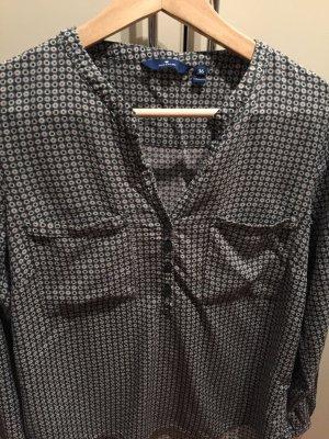 Langarm-Shirt mit abstraktem Muster