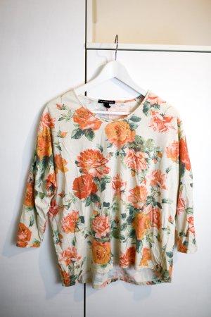 Langarm Shirt mit Blumenprint