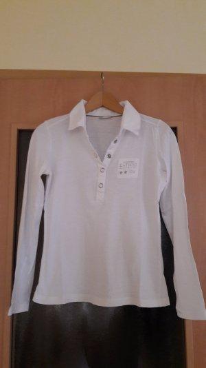 langarm Shirt mit Cordkragen