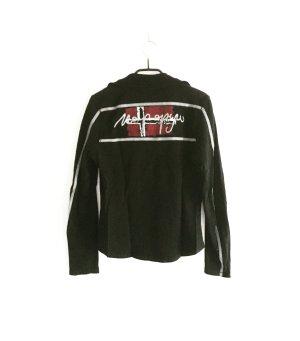 langarm shirt / napapijri / schwarz / black / polo